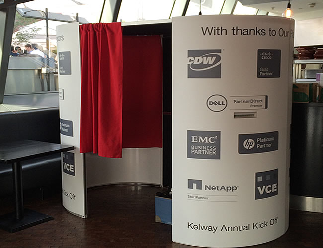 Madison - Kelway photo booth hire London - St Paul's