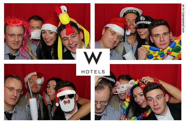 Xmas photo booth rental in London